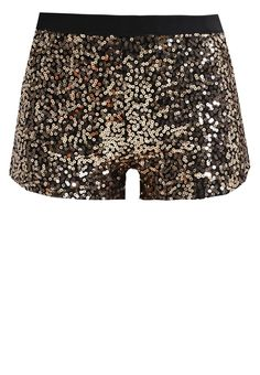 #shorts #gold #party #fashion #glitter