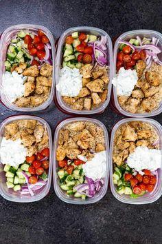Greek Chicken Bowls – Helprecipes