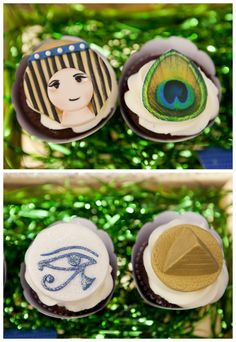 egyptian cake pops | Coordinate party activities & favors with your theme: