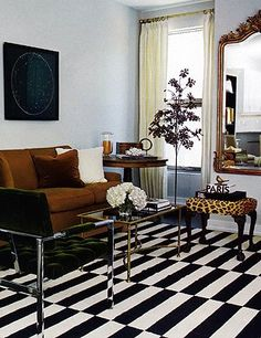 Ikea Black And White Striped Rug Rugs Ideas