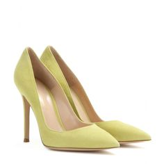 Gianvito Rossi - Suede pumps - mytheresa.com