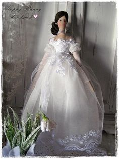 Tilda doll Tiny Princess Tilda doll Handmade OOAK doll Fabric