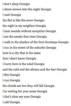 Georgia Translated by Ghita Jaouhari Philippe Soupault, I Call You, I Scream, Close My Eyes, Wait For Me, The Smoke, Georgia, Poems, Poetry
