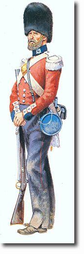 THE THIRD REGIMENT OF FOOT GUARDS (SCOTS GUARDS) SOLDADO (en Crimea) - 1854. Más en www.elgrancapitan.org/foro