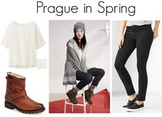 What to Wear in Prague: Spring. With so many options of weekend city breaks available while living in England, I'm day dreaming of all the fun travel opportunities available! Here are a few fun travel outfit ideas about what to wear in Prague!