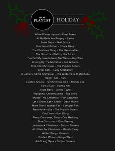 Playlist: Christmas