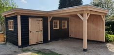 Contemporary Sheds, Garden Cabins, Garden Workshops, Hobby House, Backyard Bar, Home Garden Design, Outside Living, Outdoor Sheds, Back Patio