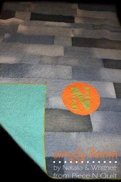 Piece N Quilt: Simply Denim Quilt Tutorial