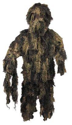 """""""Wookie"""" Ghillie Suit, dark green/brown"""