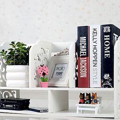 Современный шаблон Белый барокко рабочего Книжная Полка - RUB p. 2 812,90