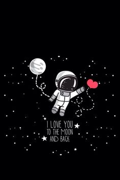 samsung wallpaper illustration Love you! Black Wallpaper, Galaxy Wallpaper, Wallpaper Backgrounds, Love Dream, Galaxy Art, Love You, My Love, Outer Space, Cute Wallpapers