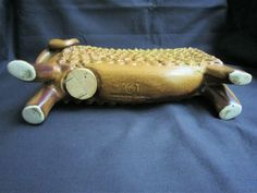 BENNINGTON LG MID CENTURY POTTERY BIG HORN RAM SHEEP BANK- DAVID GIL | eBay