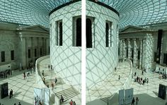 The Queen Elizabeth II Great Court: British Museum by curry15, via Flickr