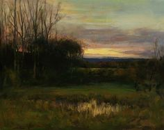 sheehan painting | ... details below on the artwork, Last Light (Sold) by Dennis Sheehan