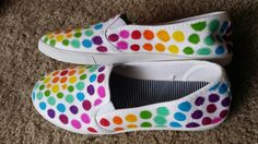 Hey everyone! Straying from my usual type of post, I got a little crafty and decided to make a post about something I did myself while Pat. Diy Tie Dye Shoes, How To Dye Shoes, Converse Design, Sharpie Shoes, Sharpie Designs, Galaxy Shoes, Polka Dot Shoes, Shoe Image, Sneaker Art