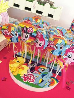 Cool My Little Pony Baby Shower Invitation Ideas