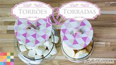 Torrões de açúcar com pote charmoso DIY | #clubedacasa