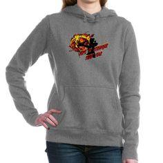 Katniss Hope is Stronger Hooded Sweatshirt on CafePress.com