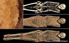 Descoberta tatuagem do arcanjo Miguel em múmia com 1300 anos