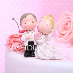 Cake Topper - $9.69 - Classic Couple Funny & Reluctant Wedding Bridal Shower Resin Cake Topper (119031530) http://jjshouse.com/Classic-Couple-Funny-Reluctant-Wedding-Bridal-Shower-Resin-Cake-Topper-119031530-g31530