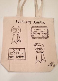 Everyday Awards Tote Bag