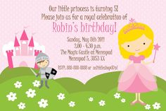 princess and knight birthday party | nslittleshop party decorations and more: Princesses and Knights and ...