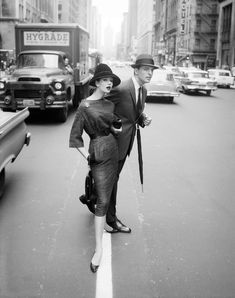 #MondayMorning Manhattan. 1959. © William Helburn
