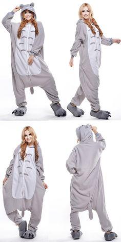 Anime Cosplay Totoro Couples Homewear Costume Adults Pyjamas 2644d903acb0