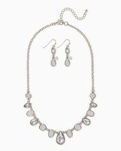 charming charlie   Stardust & Stone Necklace Set   UPC: 400000271422 #charmingcharlie