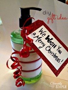 We WASH You A Merry Christmas : DIY Christmas Gift Idea