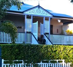 a17 Front Verandah, Front Porch, Facade House, House Facades, Front Gates, Queenslander, Pretty Room, Outdoor Living, Outdoor Decor