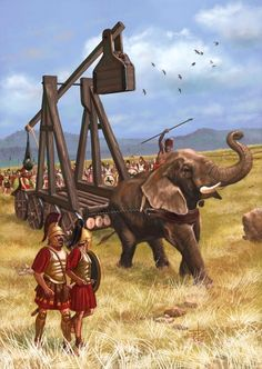 Hannibal's Catapult by Sandra Delgado Ancient Egyptian Art, Ancient Aliens, Ancient Greece, Greco Persian Wars, War Elephant, Punic Wars, Ancient Near East, European History, American History