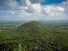 View from the top of Sigiriya