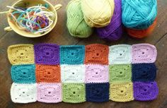 The Sweet Easy Peasy Square will have you making granny square afghans in no time. Easy crochet patterns may seem hard to come by, so put this one on your list.