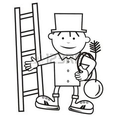 Chimney Sweep, Pyrography, Happy New, Techno, Coloring Books, Stock Photos, Comics, Drawings, Fictional Characters