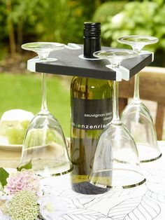 Deko Ideen Fürs Kleine Weinfest Im Garten