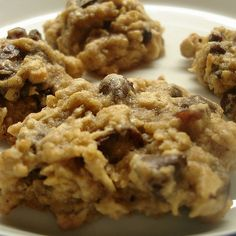 Neece's Delicious Low Carb High Fiber Oatmeal Cookies Recipe #lowcarb #highfiber #cookies #oatmeal #dessert #golofoods