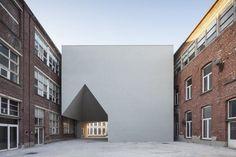 Architecture Faculty in Tournai | Aires Mateus; Photo: Tim Van de Velde | Archinect