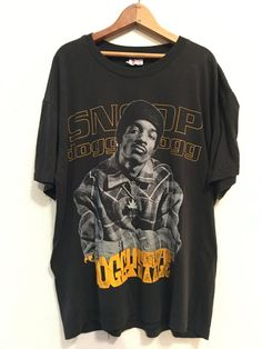 1993 SNOOP DOGGY DOGG doggystyle Vintage T Shirt Promo // Size L