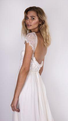 Emme-waisted low back dress - Grace Loves Lace - Beautiful boho wedding style