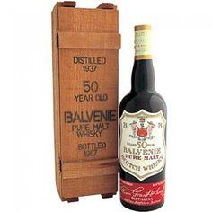 Balvenie 50 yo 1937 Bottled 1987  Single Malt Whisky Scotland, Speyside