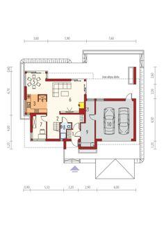 Rodrigo II G2: Parter House Plans, Floor Plans, How To Plan, Design, House Floor Plans, Floor Plan Drawing, Home Plans