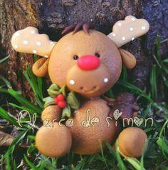Days Till Christmas, Polymer Clay Christmas, Noel Christmas, Diy Christmas Ornaments, Holiday Crafts, Polymer Clay Projects, Polymer Clay Creations, Polymer Clay Art, Clay Crafts