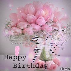 Happy Birthday Flowers Wishes, Birthday Celebration Quotes, Birthday Wishes Greetings, Happy Birthday Cake Images, Birthday Blessings, Happy Birthday Candles, Happy Birthday Fun, Happt Birthday, Birthday Photos