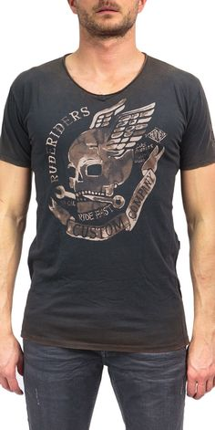 Rude Riders Motorcycle Fashion, Motorcycle Style, Graphic Tees, Graphic Design, Kustom, Shirt Designs, Layout, Graphics, Traditional