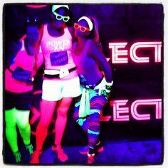 Electric run! 5k Run Or Dye, Neon Run, Electric Run, Tough Mudder, Neon Glow, Moon Child, Bucket, Running, Live