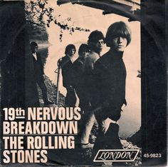 rolling stone 45 picture sleeve | RollingStones19thPS, Rolling Stones Sad Day Picture Sleeve