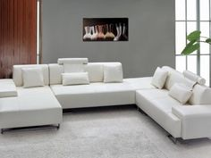 Sofa Designs To Create The Comfort Zone In The Living Room Ideas Papertostone White Sectional