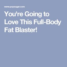 You're Going to Love This Full-Body Fat Blaster! 30 Min Workout, Fat Burning Cardio Workout, Cardio Abs, Workout Videos, Exercise Videos, Body Workouts, Hiit, Total Body, Full Body