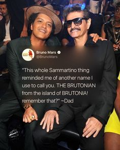 Bruno and his dad